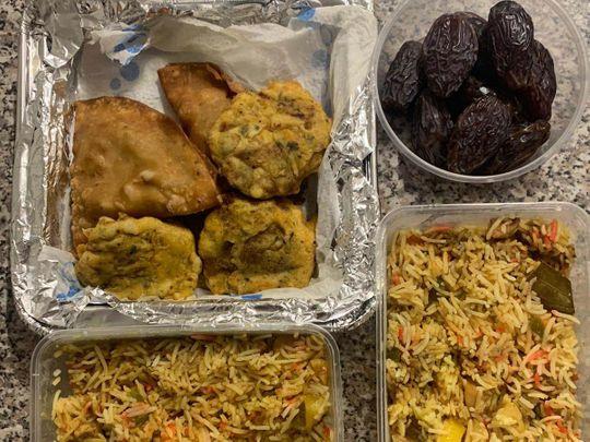 Pakistani student meals