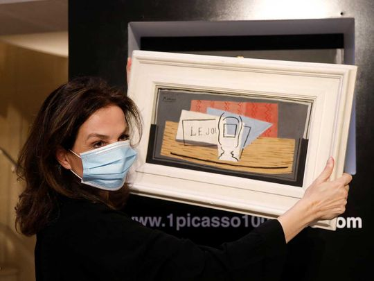 Italian woman wins Picasso painting in French charity raffle ...