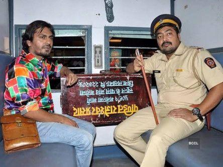 Anurag Kashyap and Nawazuddin Siddiqui in Ghoomketu (2020)-1589964947358