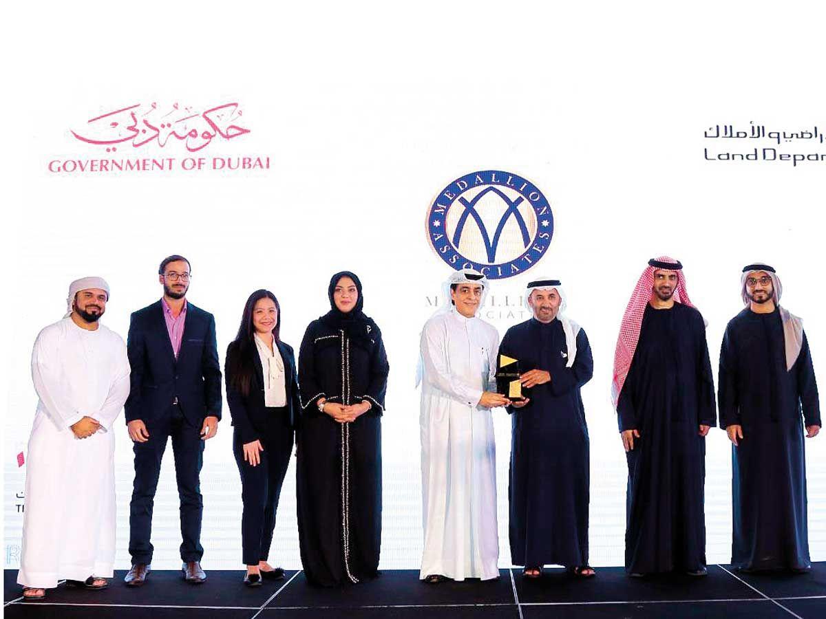 Medallion Associates Dubai Land Department award