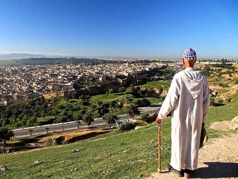 Morocco Ramadan drummer