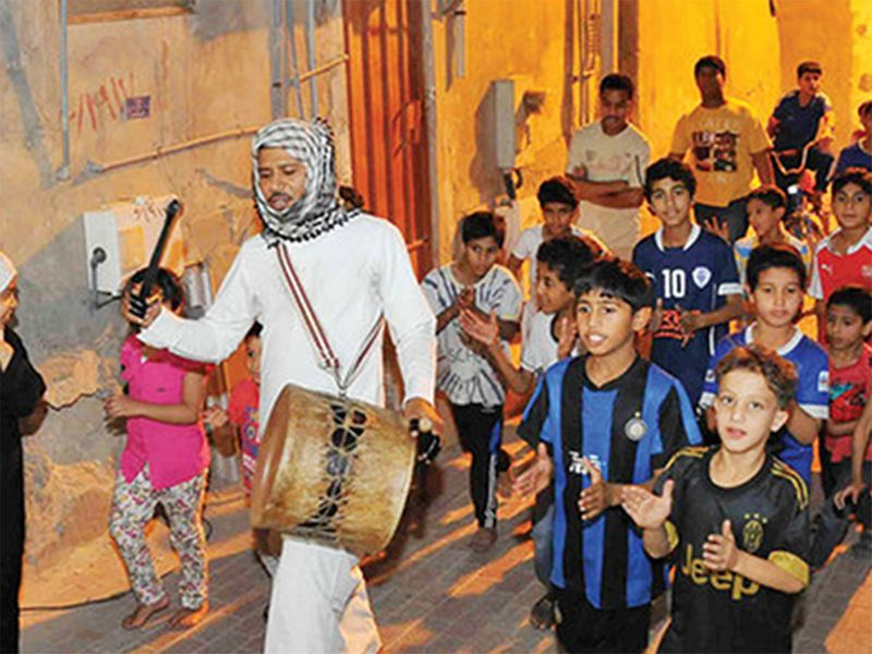Saudi drummer
