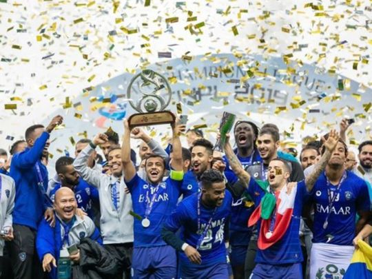 Al Hilal are AFC Asian Champions League title holders