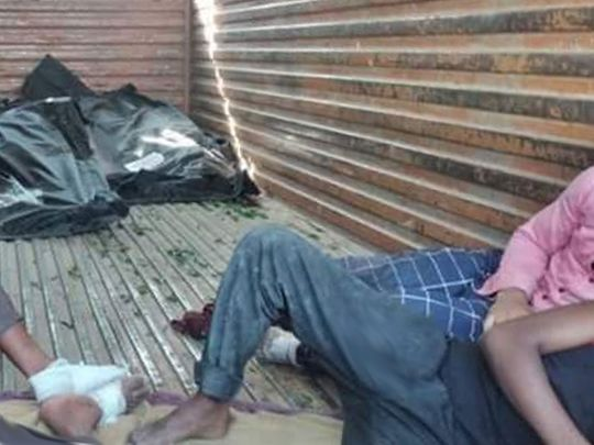 COVID-19 India: Dead bodies in trucks with migrants