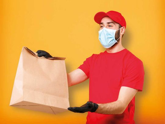 Generic delivery guy
