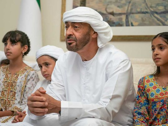 Sheikh Mohamed tells people to stay safe, be responsible during Eid