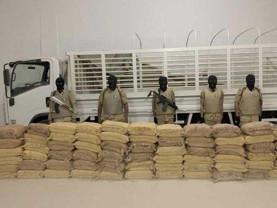 Saudi drug haul Houthi