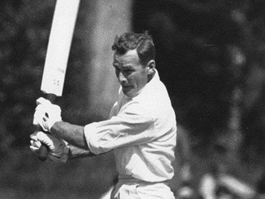 Bert Sutcliffe was the only New Zealand batsman to get into double figures against England in 1955.