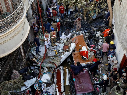 Plane crash: 19 bodies of Pakistan International Airlines plane crash victims forcibly taken