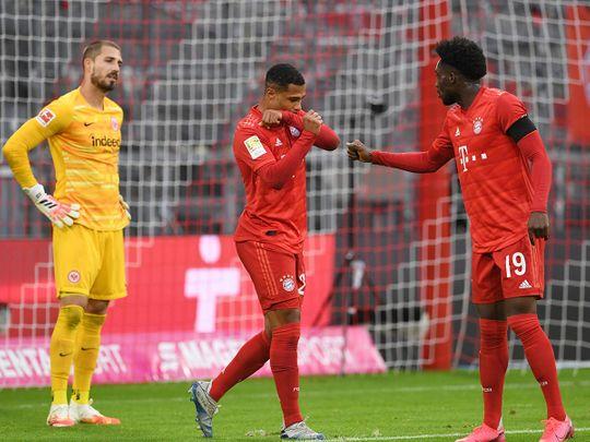 Bayern Munich v Eintracht Frankfurt