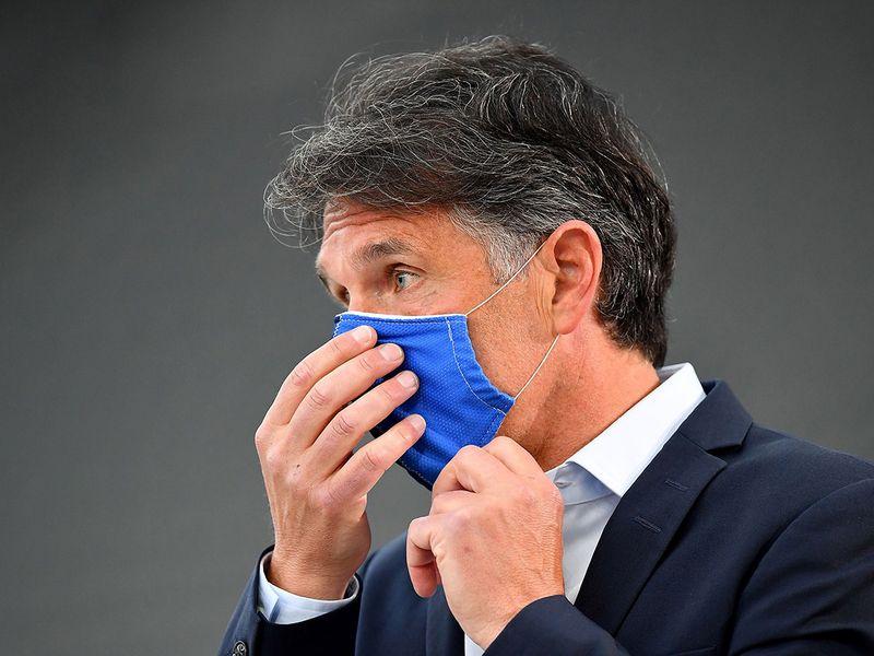Hertha's German head coach Bruno Labbadia.