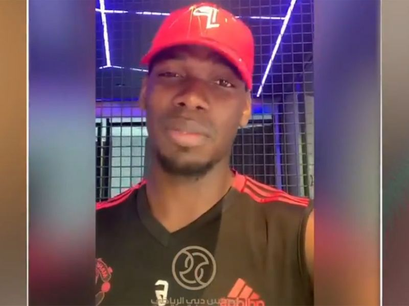 Paul Pogba conveys his Eid message via Dubai Sports Council