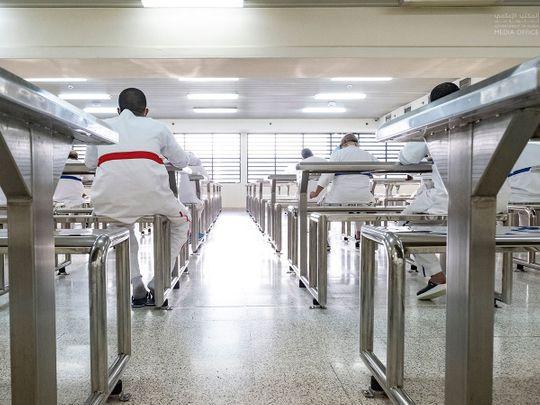 Social distancing  enforced at Dubai Central jail