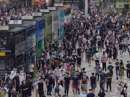 Hong Kong protests China
