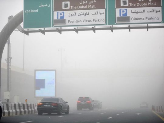UAE weather: Rain, dust, thunderstorms and cloud seeding on the first day of Eid