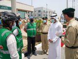 Sheikh Hamdan visits Dubai's frontline heroes