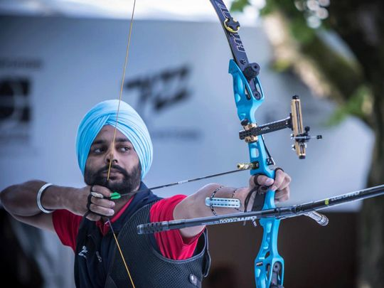 COVID-19: Indian Para archer Harvinder converts farm into a practice range