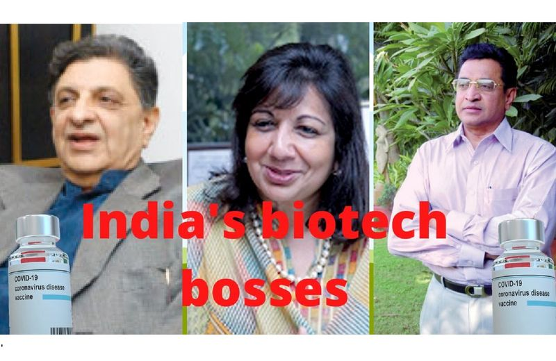 Biotech bosses