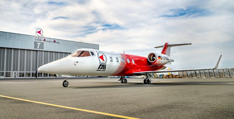 FAI_Ambulance_Learjet 60 aircraft-1590401757588