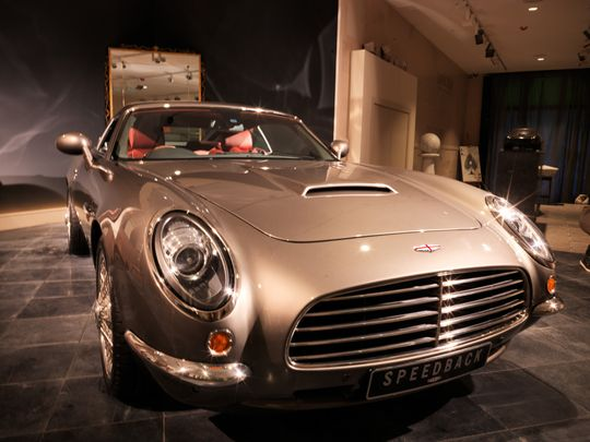James Bond's car comes to life, but no ejector seat here