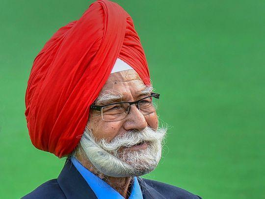 Three-time Olympic gold medalist hockey veteran Balbir Singh Sr