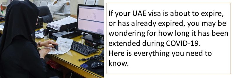 UAE visa validity during COVID-19