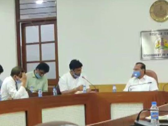 Union Minister DV Sadananda Gowda