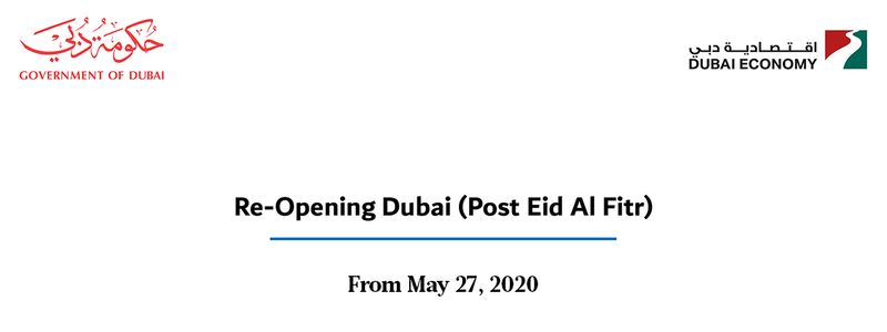 Dubai reopening