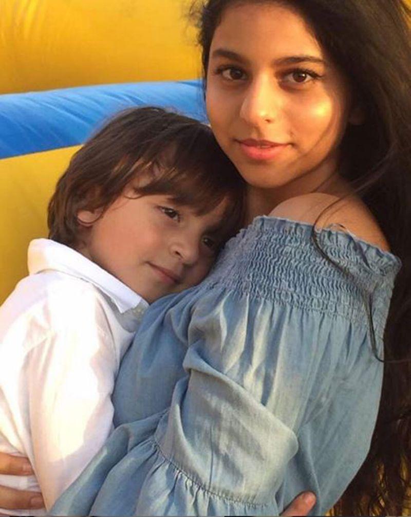 AbRam and Suhana Khan