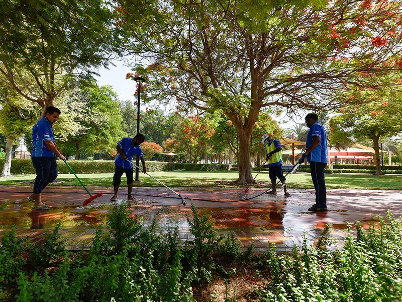 Al Qusais Pond Park
