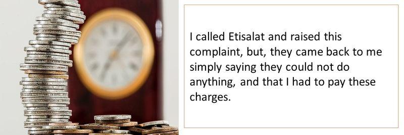 Etisalat complaint