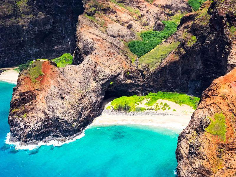 HONOPU BEACH KAUAI, HAWAII: