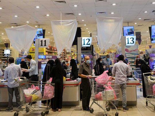Saudi supermarket VAT Riyadh