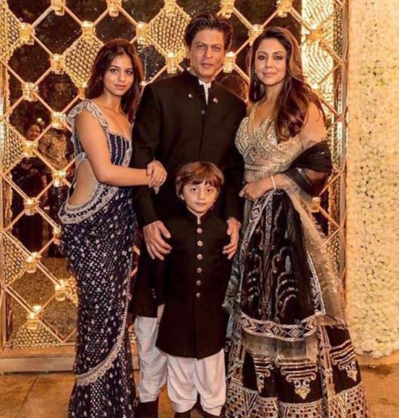 Shah Rukh and family