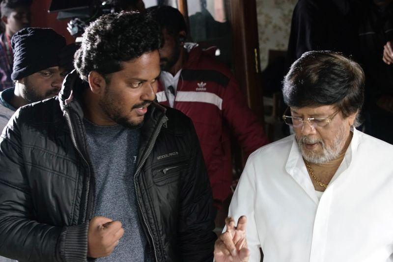 TAB 200517 Director Fredrick with director Thyagarajan on the sets-1590558753752