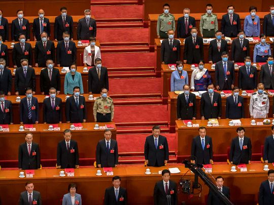 Chinese President Xi Jinping China's National People's Congress