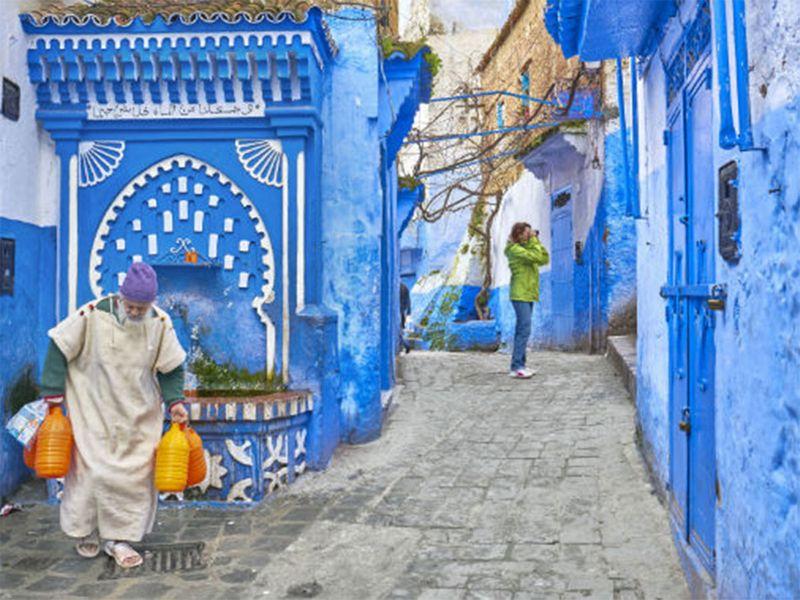 Chefchaouen -a.k.a. Chaouen- In Morocco