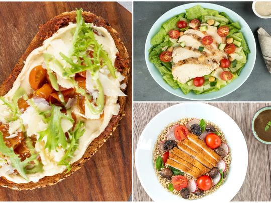 Recipe: Hummus Ceasasr Quinoa