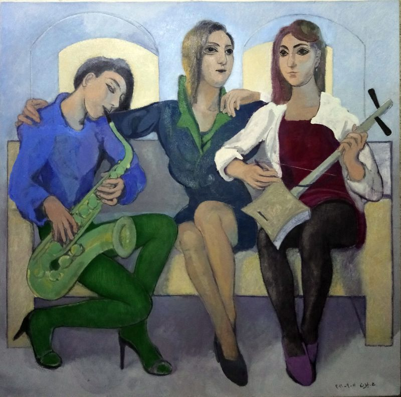 TAB WK 200525 Housam Ballan-Three Girls.JPG-1590674058908