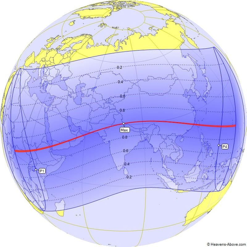 Timings of annular solar eclipse June 2020