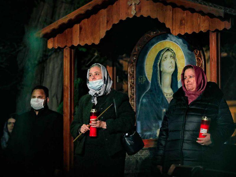 Virus_Outbreak_Romania_Delayed_Easter_Photo_Gallery_58045