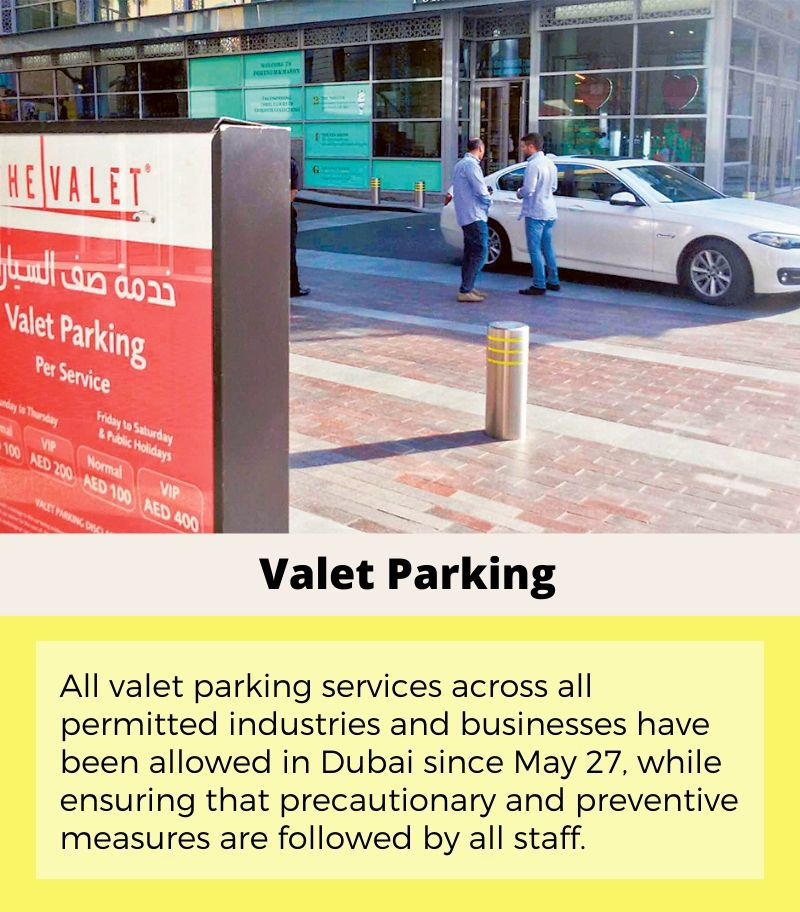 what's open what's not - may 27 - valet