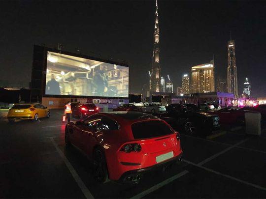 Inside Dubai's second drive-in cinema
