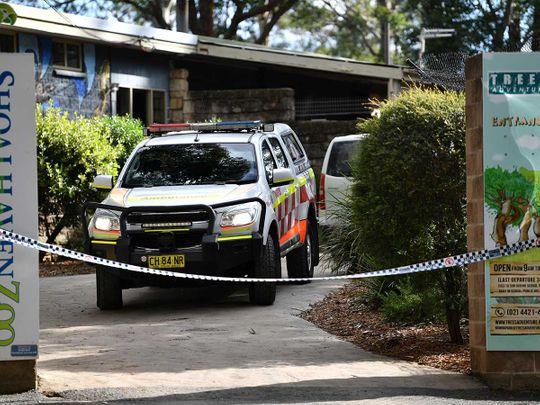 Shoalhaven Zoo Australia lion attack