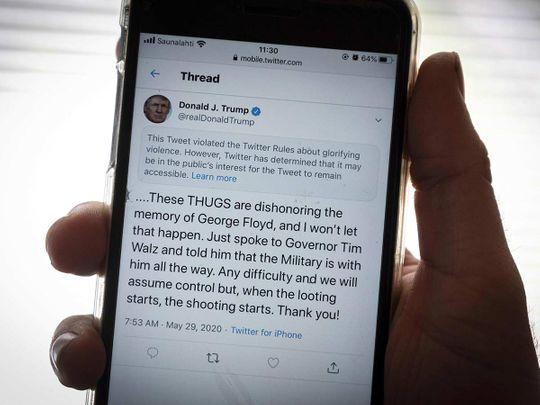 Trump thugs
