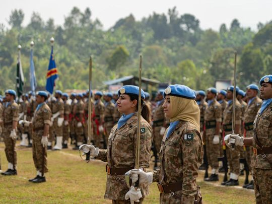 Pakistan's women peacekeepers make their mark