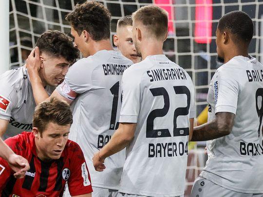 Kai Havertz has made history in the Bundesliga