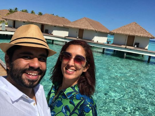 Coronavirus: Meet the Dubai couple on a never-ending honeymoon