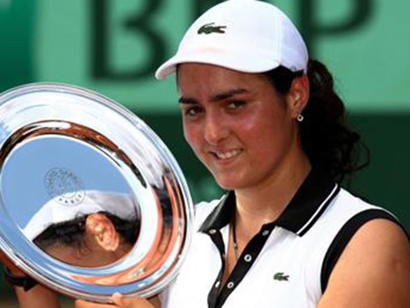 Ons Jabeur won the French Open Junior title in 2011