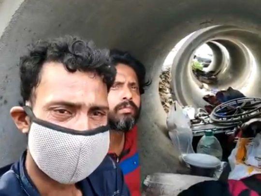 Sonu Sood helping workers